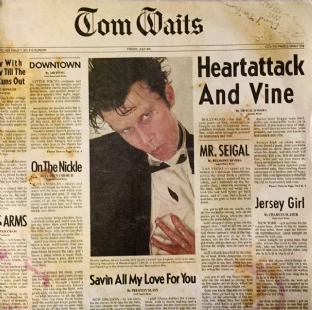 Tom Waits - Heartattack And Vine (LP) (VG+/G++)